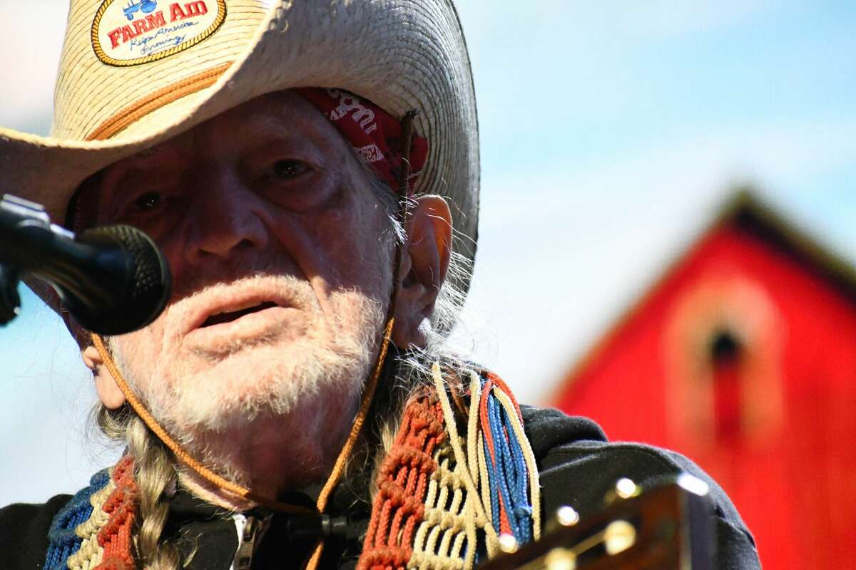 Willie Nelson & Family perform at Farm Aid at the Xfinity Theatre in Hartford on Sept. 25, 2021.