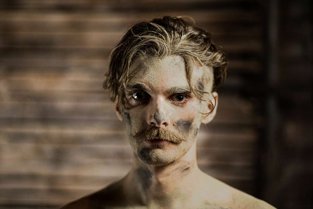 """In Troy Foundry Theatre's new production, """"Where There's Smoke: Ilium Burns,"""" Connor Armbruster plays The Unrequited, a violinist and WWI vet during the height of the 1918 influenza pandemic, also known as the Spanish flu."""