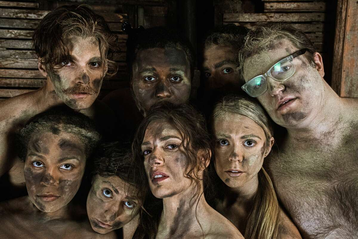 """The cast of Troy Foundry Theatre's new production, """"Where There's Smoke: Ilium Burns."""" Pictured from left to right, at top: Connor Armbruster, Iniabasi Nelson, Matt Malone and Shayne David Cameris; at bottom: Angelique Powell, Emily Curro, Shannon Raffety and Raya Malcolm."""