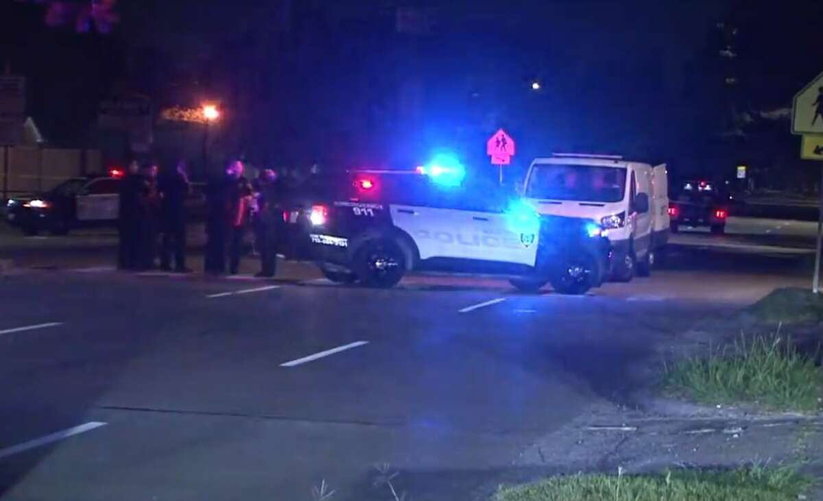 Houston police found a woman dead Sunday night on Homestead Road near Peyton.