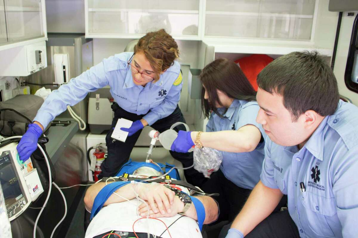 Laredo College's EMS Program offers three levels of certification including ones for Emergency Medical Technician (EMT), Advanced Emergency Medical Technician (AEMT) and the Paramedic Program.