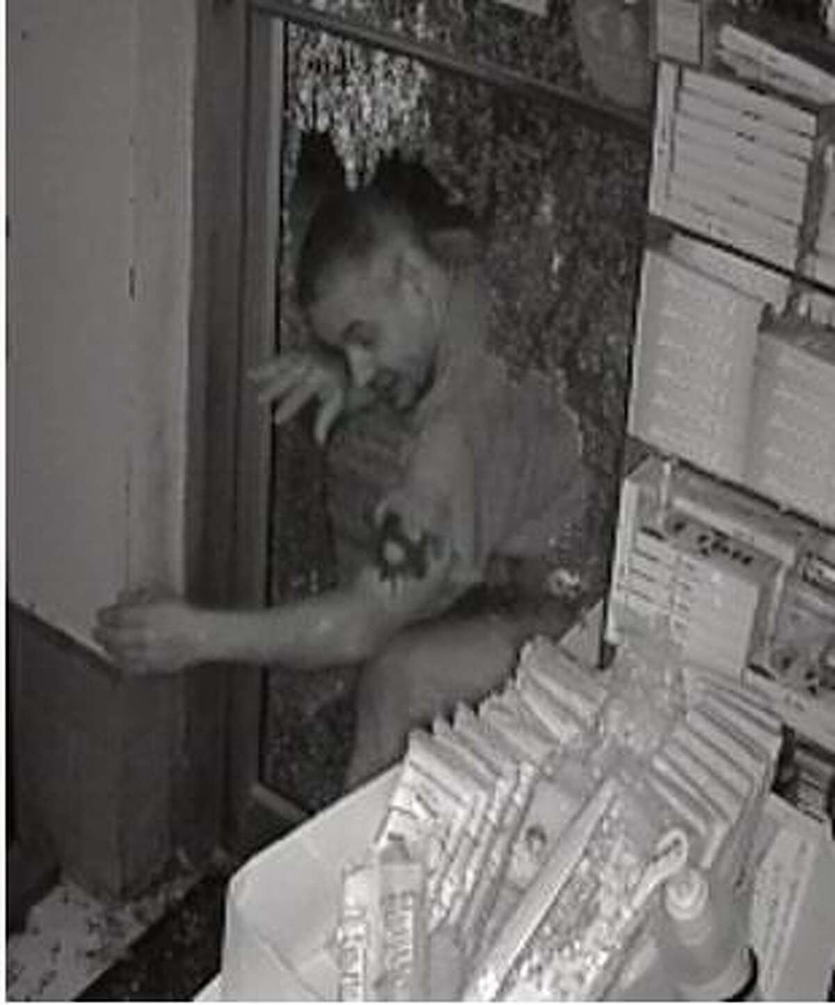 Police said this man broke into the East Main Market early on the morning of Sept. 24.