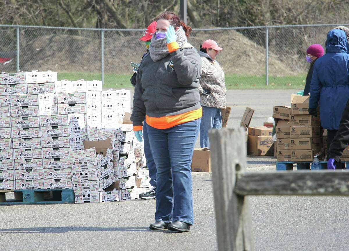 The Food Bank of Eastern Michigan will sponsor pop-up food pantries in Bay Port and Ubly in the coming week. (Tribune File Photo)