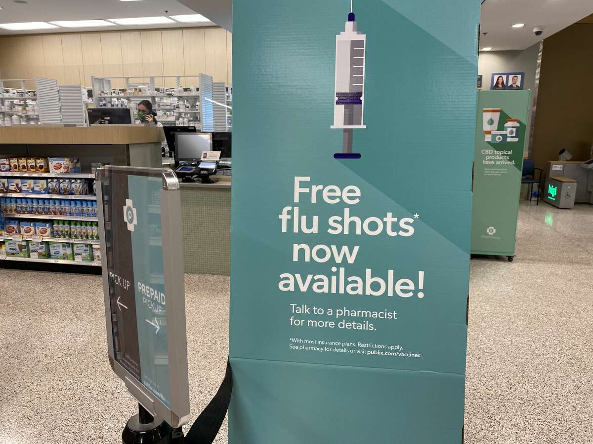 Last flu season Michigan's vaccination rate was about 34%, according to the Michigan Care Improvement Registry. That was the highest state flu vaccination rate of all time, according to state health officials.
