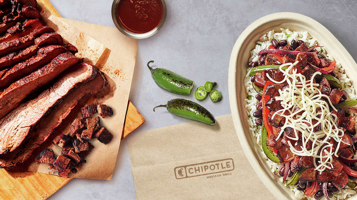 Chipotle's new brisket debuted this week.
