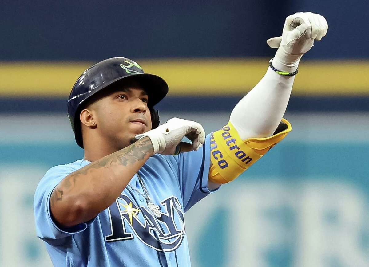 Rays rookie shortstop Wander Franco has reached base in 41 consecutive games, two shy of the MLB record for any player under 21.