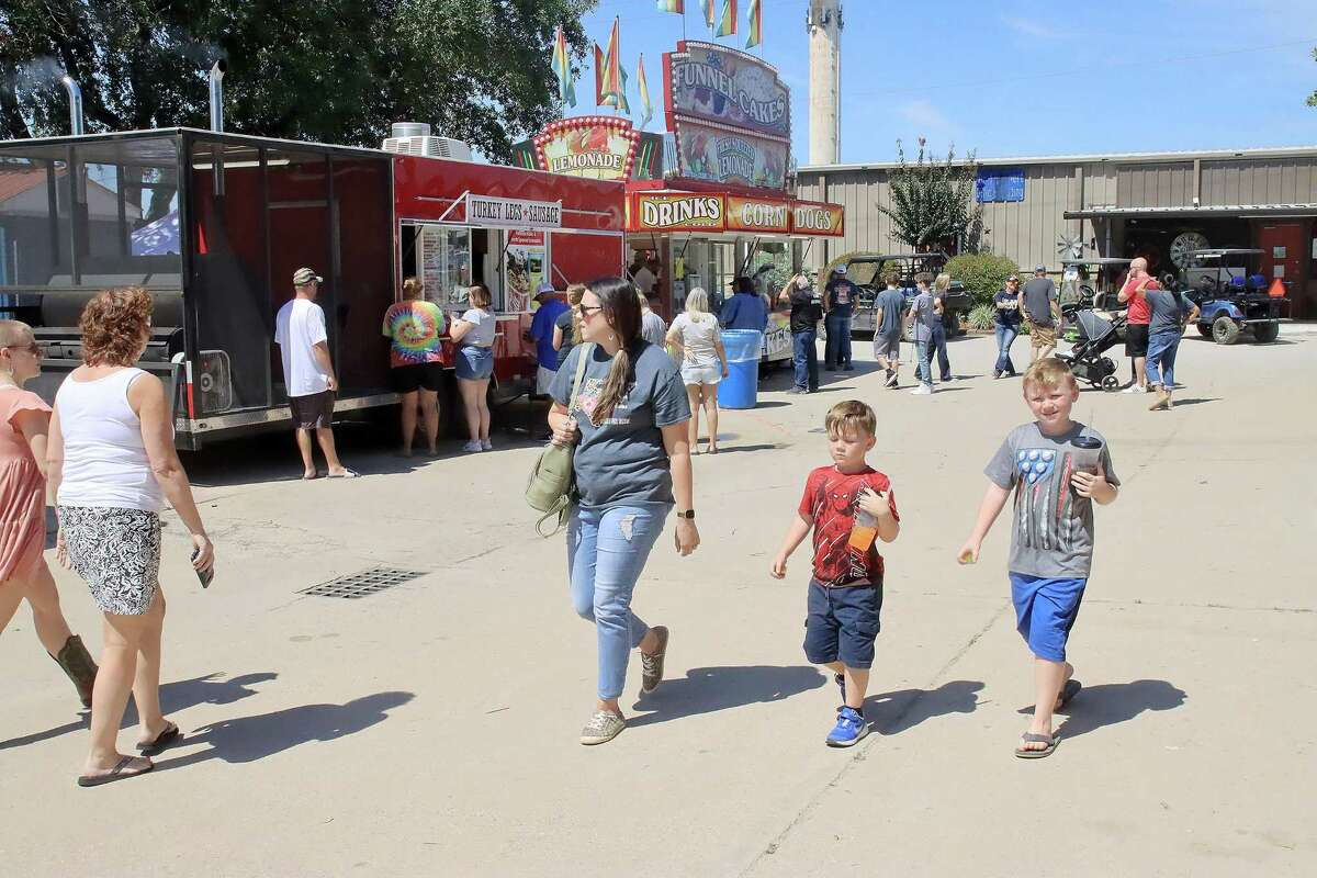 The return of the Pasadena Livestock Show and Rodeo this year brought in throngs of visitors after cancellation of most events in 2020 because of the pandemic.