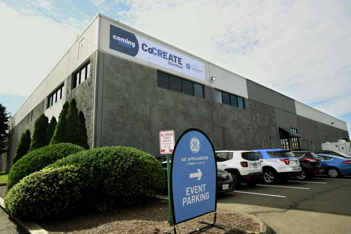 GE Appliances plans to open in 2022 a CoCREATE center, which will include small-appliances manufacturing, at 49 John St., in Stamford, Conn.