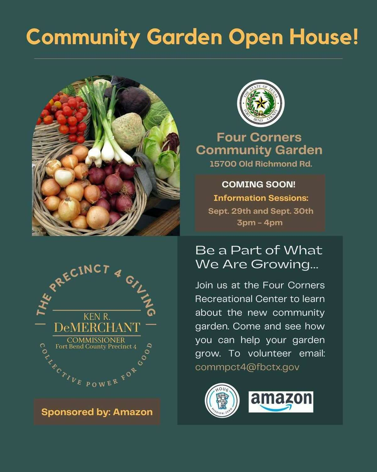 The Four Corners Community Garden is expected to empower food insecure households in the Four Corners area.