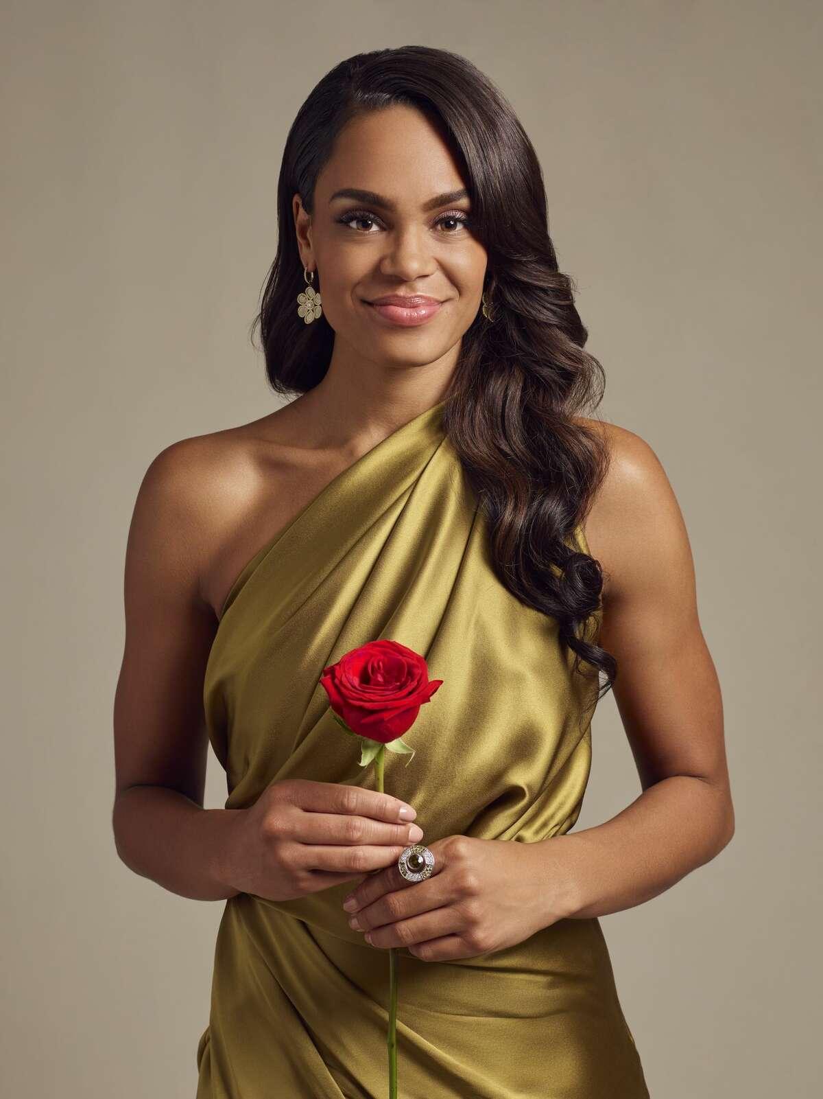 "THE BACHELORETTE - ABC's ""The Bachelorette"" stars Michelle Young. (Sami Drasin/ABC via Getty Images)"