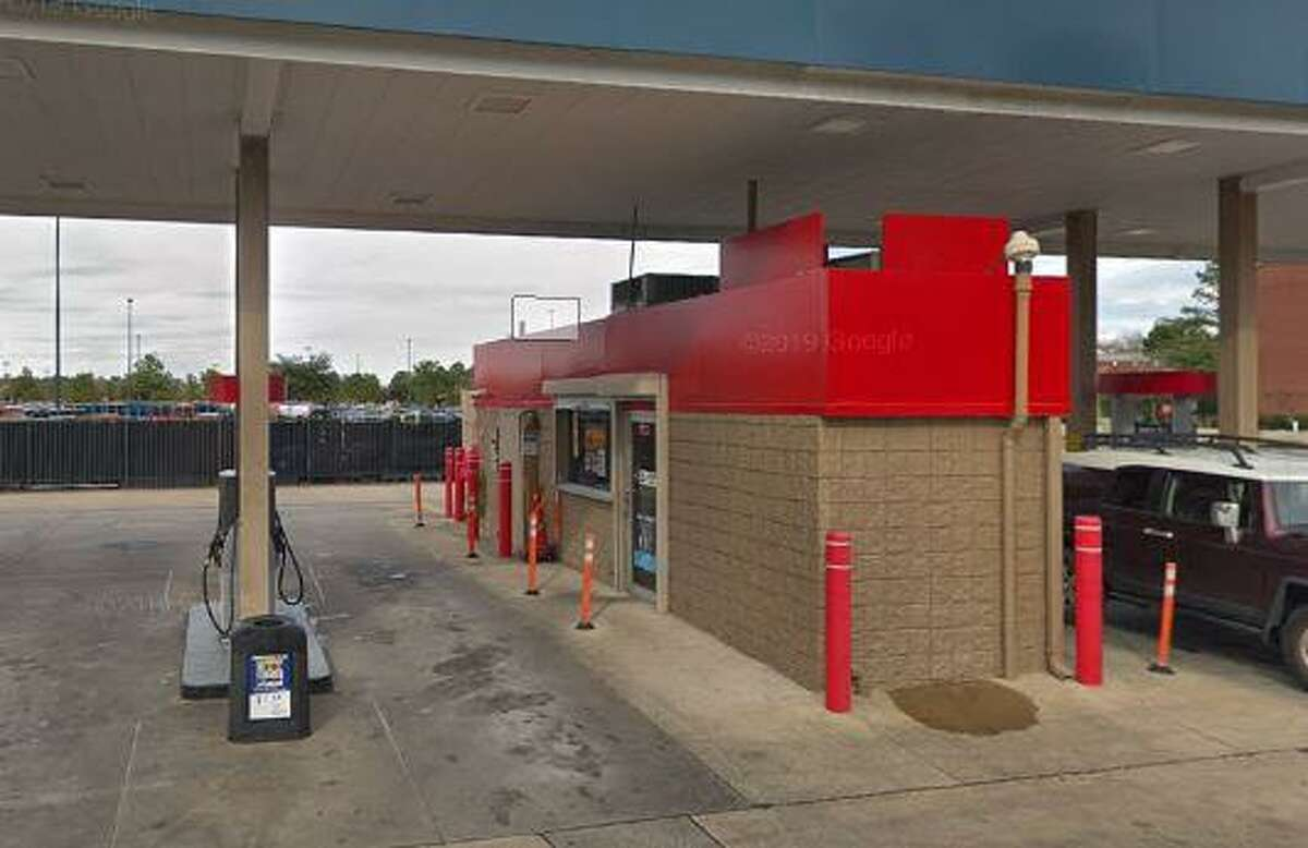 A cashier at this Murphy USA gas station at 3042 College Park in The Woodlands area was allegedly robbed at gunpoint Sunday morning.