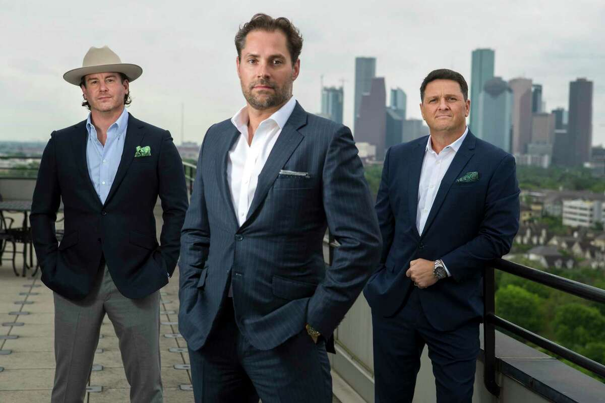 This file photo shows Michael Carroll, co-founder, Foxgate Capital, left, Jay Fields, CEO, The Fields Cos., and Dean Abbondanza, director of engineering, The Fields Cos. in Houston. JD Fields, a unit of Fields Cos., said Monday that it has acquired a division of Pittsburgh steel company for $24 million.