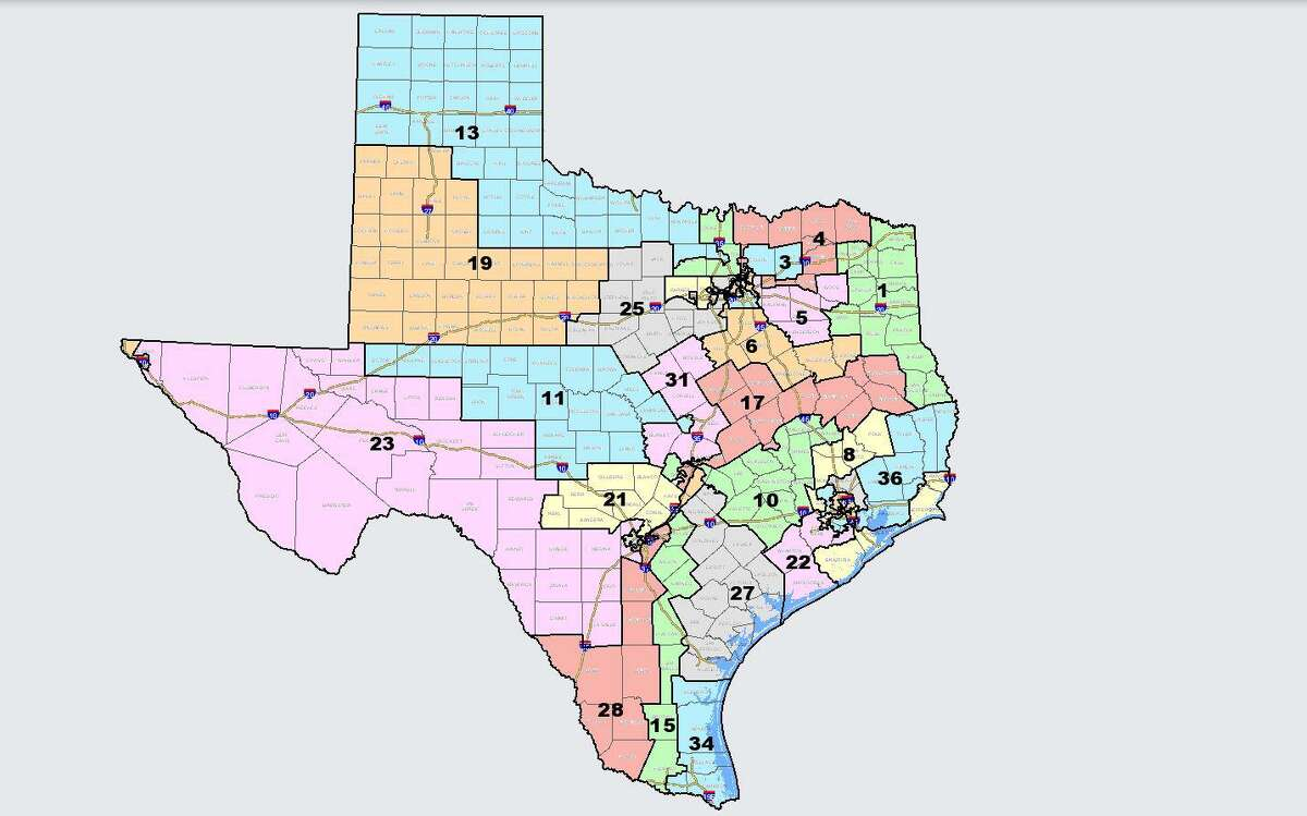 Texas Republicans released a proposal for redrawing the state's congressional districts on Monday. The state is adding two seats in the U.S. House of Representatives due to population growth documented in the 2020 census. Under this proposal, the Austin and Houston areas would each get one new seat.