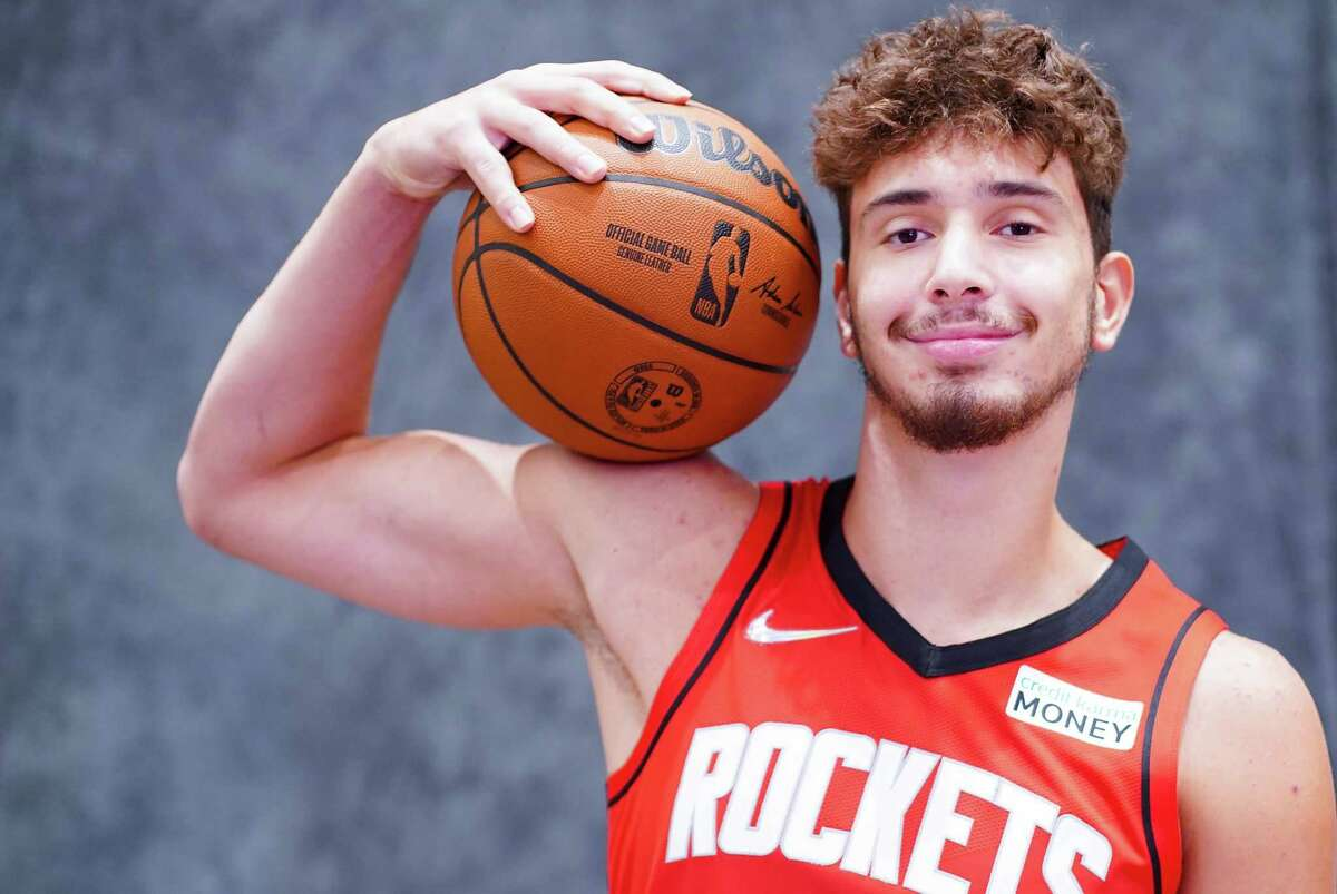 Houston Rockets center Alperen Sengun was at media day on Monday but missed Tuesday's first practice because of illness.