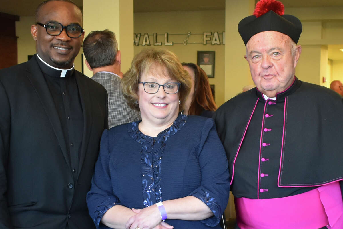 A Gala event was held to honor Msgr. Robert Tucker at the Nancy Marine Studio Theater on Sunday, September 26th, in Torrington, Conn. The Event was hosted by St. John Paul the Great Parish and School.