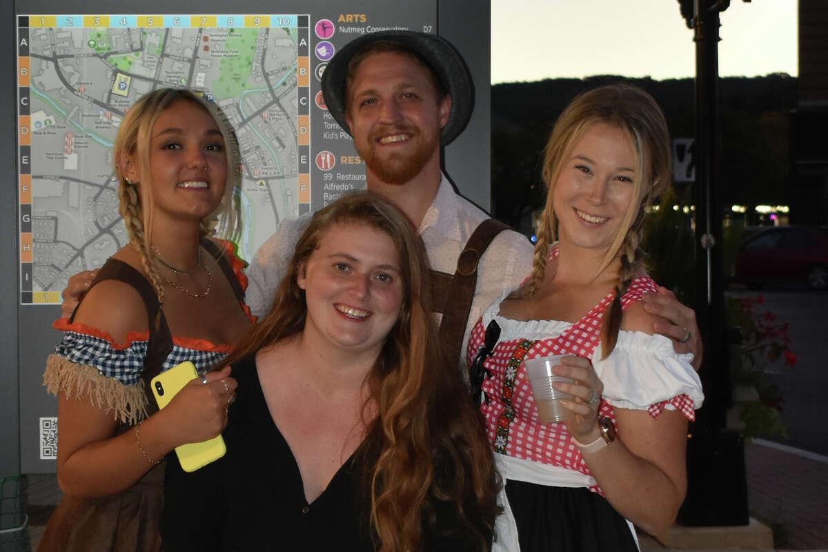 Oktoberfest was held at Franklin Plaza in downtown Torrington on Sunday, Sept. 26, 2021.