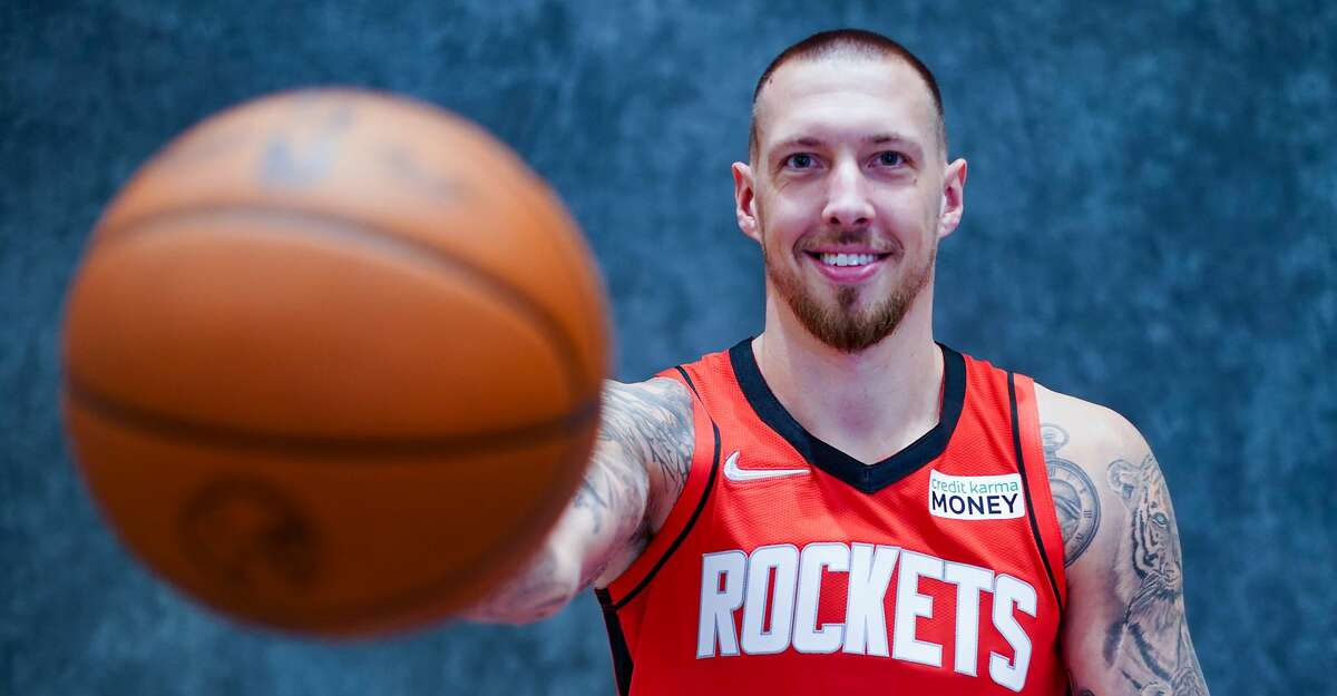Veteran newcomer Daniel Theis is more than willing to accept his role as a defensive linchpin on a young Rockets squad.