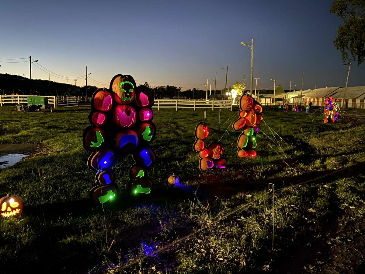 The Hallowed Harvest at the Altamont Fairgrounds is open through Halloween.