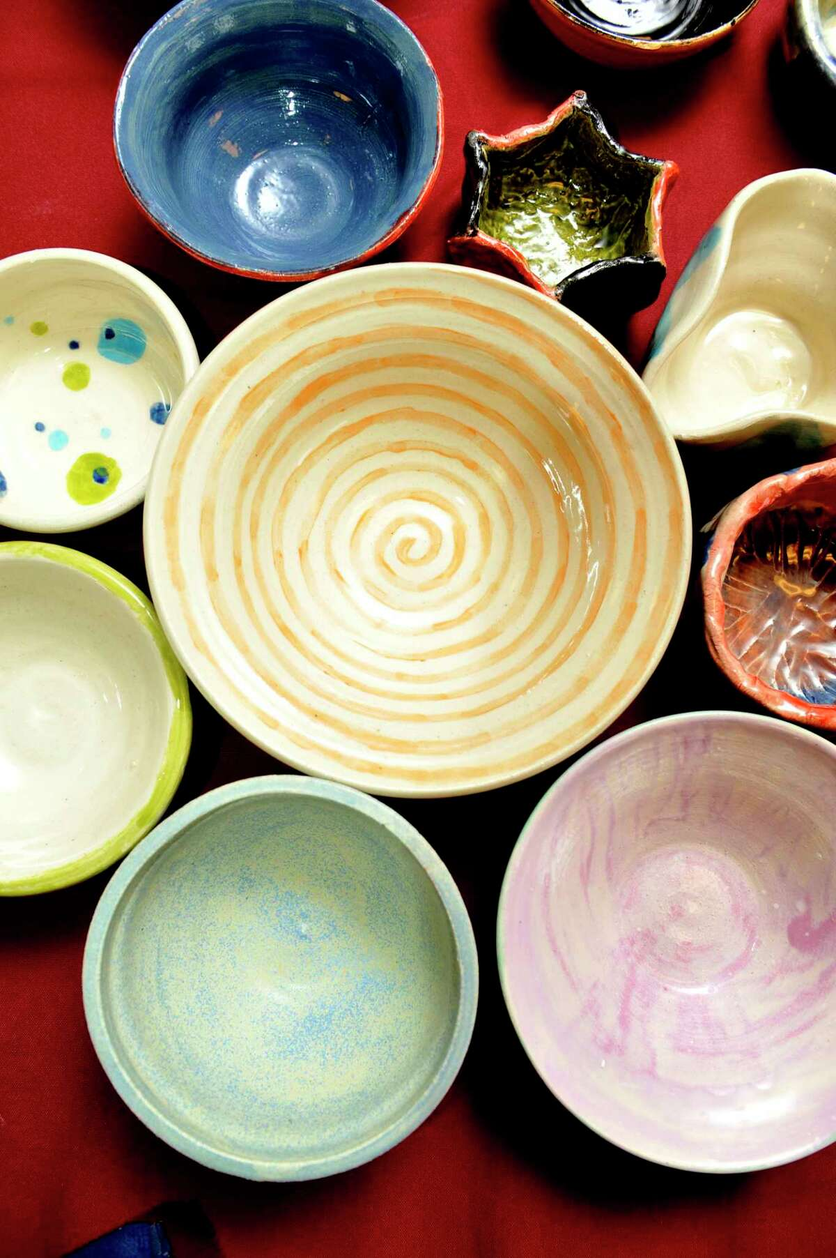 Empty Bowls, a fundraiser organized by the Collar City Clay Guild that over the past 15 years has raised more than $275,000 for food-relief programs in Troy by selling soup bowls made by local potters, will have its bowls available at a booth at the Troy Waterfront Farmers on three Saturdays: this weekend and Oct. 9 and 16.