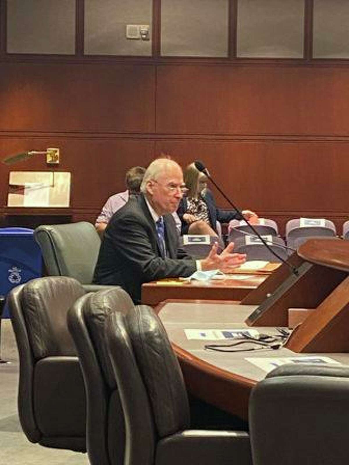 Robert Devlin Jr., a former state judge and federal prosecutor, was appointed by the Criminal Justice Commission to the position of inspector general after a full day of interviews on Monday.