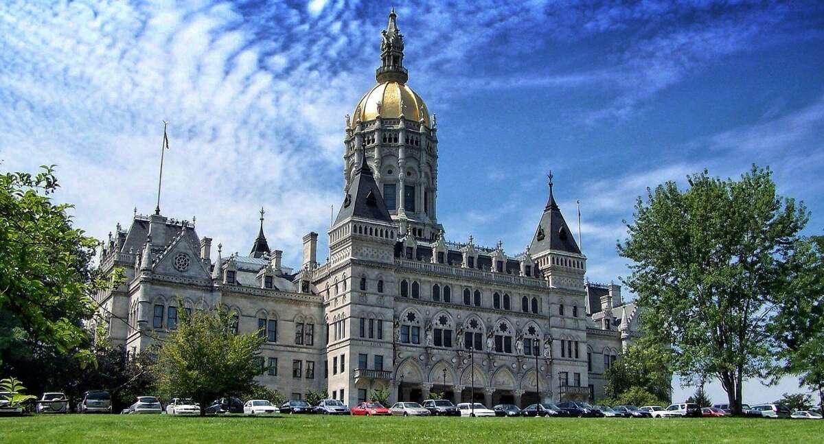 The Connecticut Capitol building.