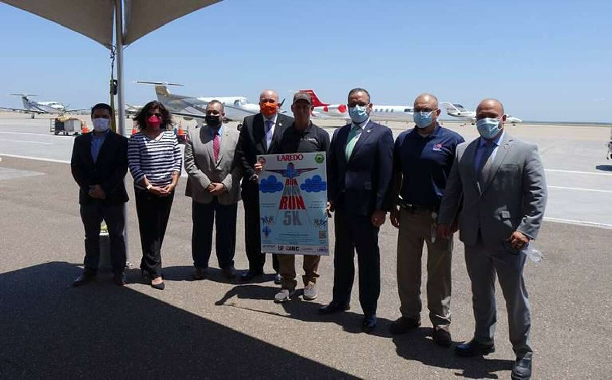 Officials from the City of Laredo announced the Runway Run 5k in Laredo during last month. The event is approaching soon, set for Oct. 9.