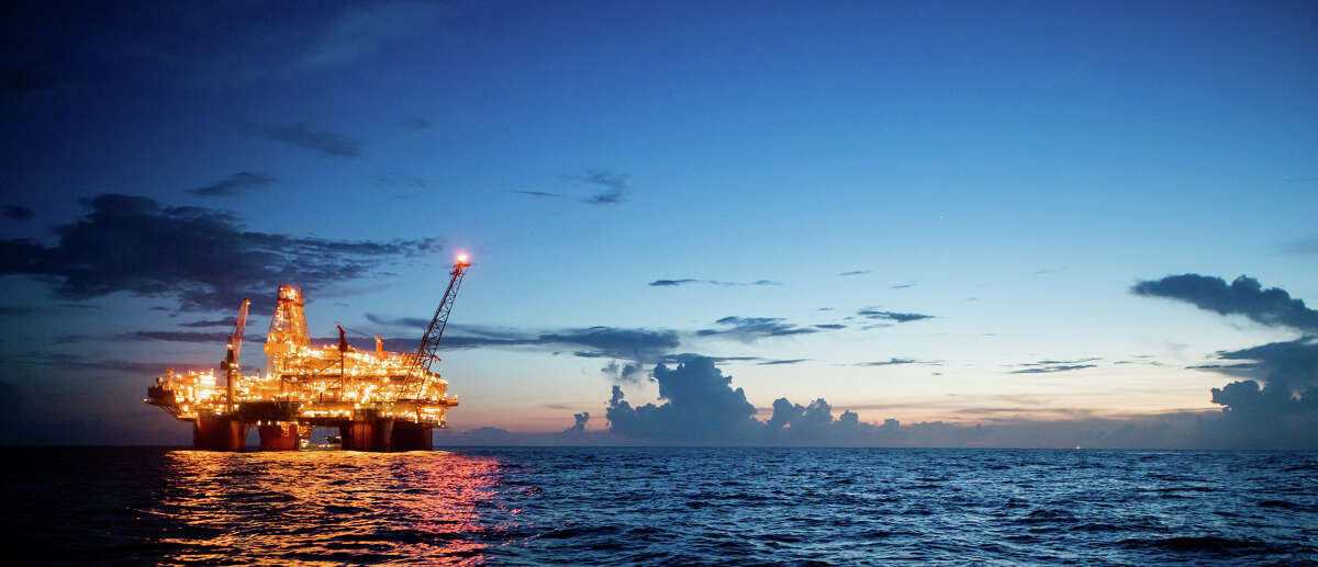 BP's Thunder Horse oil production and drilling platform is the British oil major's largest in the Gulf of Mexico.