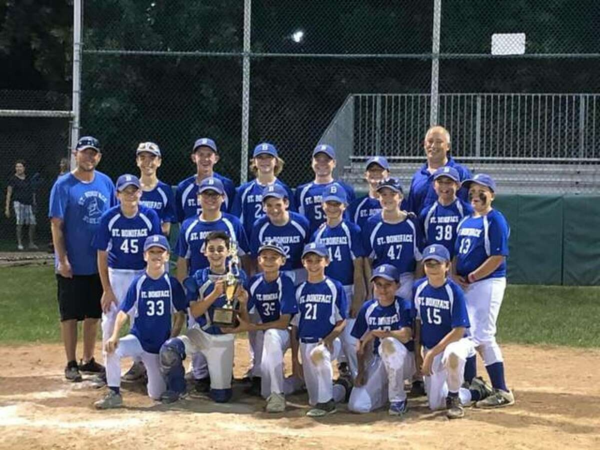 The St. Boniface baseball team advanced to the Southern Illinois Junior High School Athletic Association (SIJHSAA) Class M State Tournament with a 16-2 win over Shiloh on Monday at Hoppe Park. The Thunder Jays - the team is a co-op between St. Boniface and St. Mary's - will face Nashville at 1:30 p.m. Saturday at Perry County Fairgrounds in Pinckneyville. The semifinals are scheduled for Tuesday and the state championship game is Thursday in Pinckneyville.