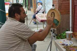 Efthemios (Altin) Stoja is an iconographer specializing in Byzantine iconography based in Cohoes