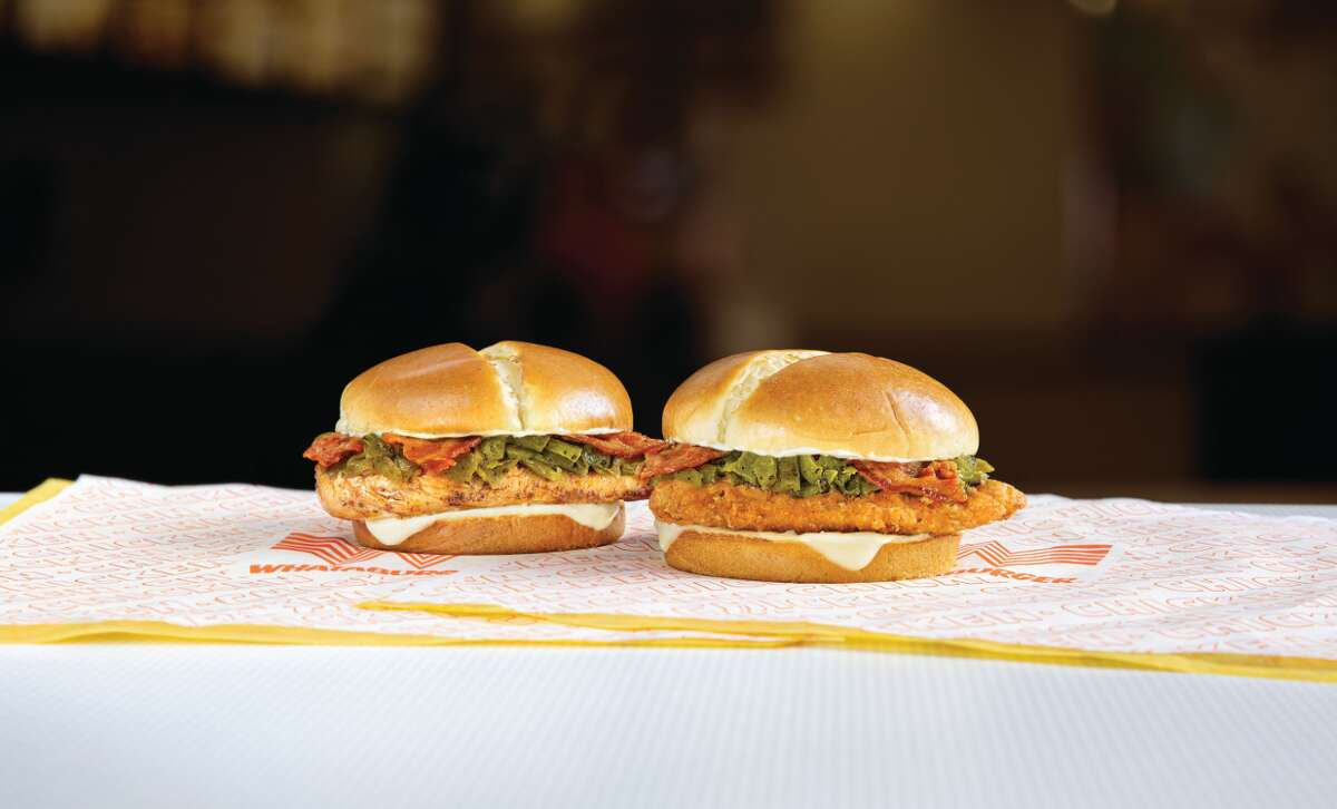 The hatch chile bacon flavors are giving life to a new sandwich.