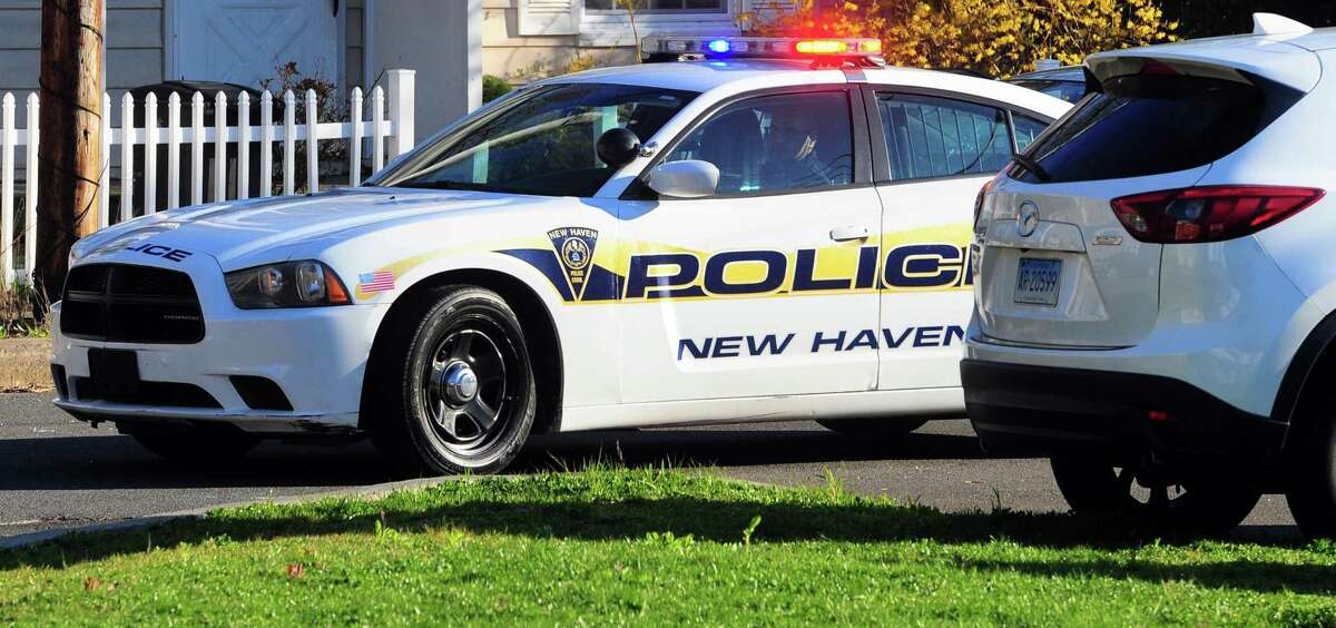 A house on Valley Street in New Haven, Conn., was hit by gunfire on Monday, Sept. 27, 2021, according to police. Investigators said the house was not the intended target.