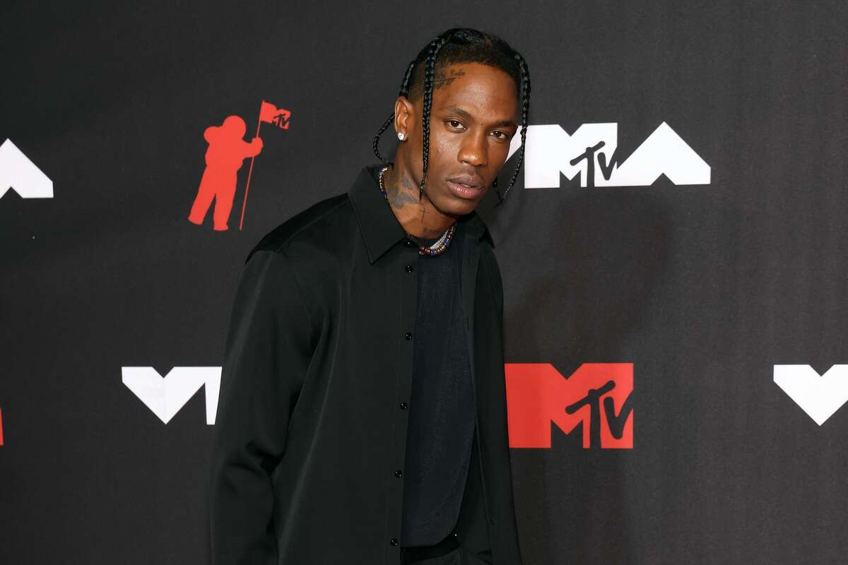 Travis Scott attends the 2021 MTV Video Music Awards at Barclays Center on September 12, 2021 in the Brooklyn borough of New York City. (Photo by Taylor Hill/FilmMagic)