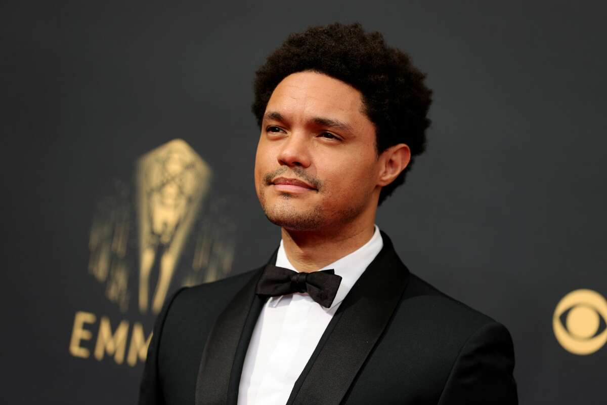 LOS ANGELES, CALIFORNIA - SEPTEMBER 19: Trevor Noah attends the 73rd Primetime Emmy Awards at L.A. LIVE on September 19, 2021 in Los Angeles, California. (Photo by Rich Fury/Getty Images)