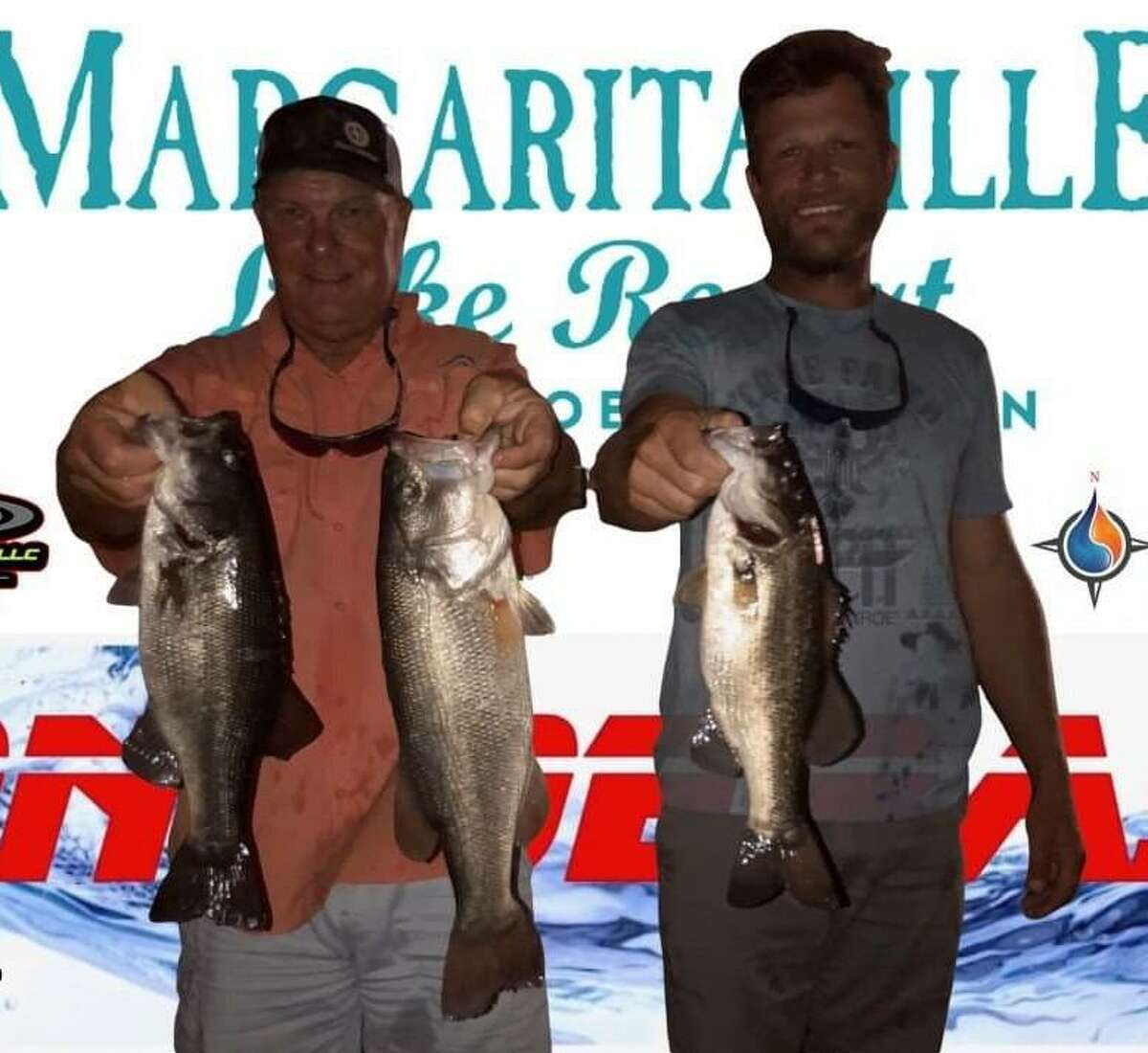 David and Cody Hall came in second place in the CONROEBASS Tuesday Tournament with a weight of 8.84 pounds.