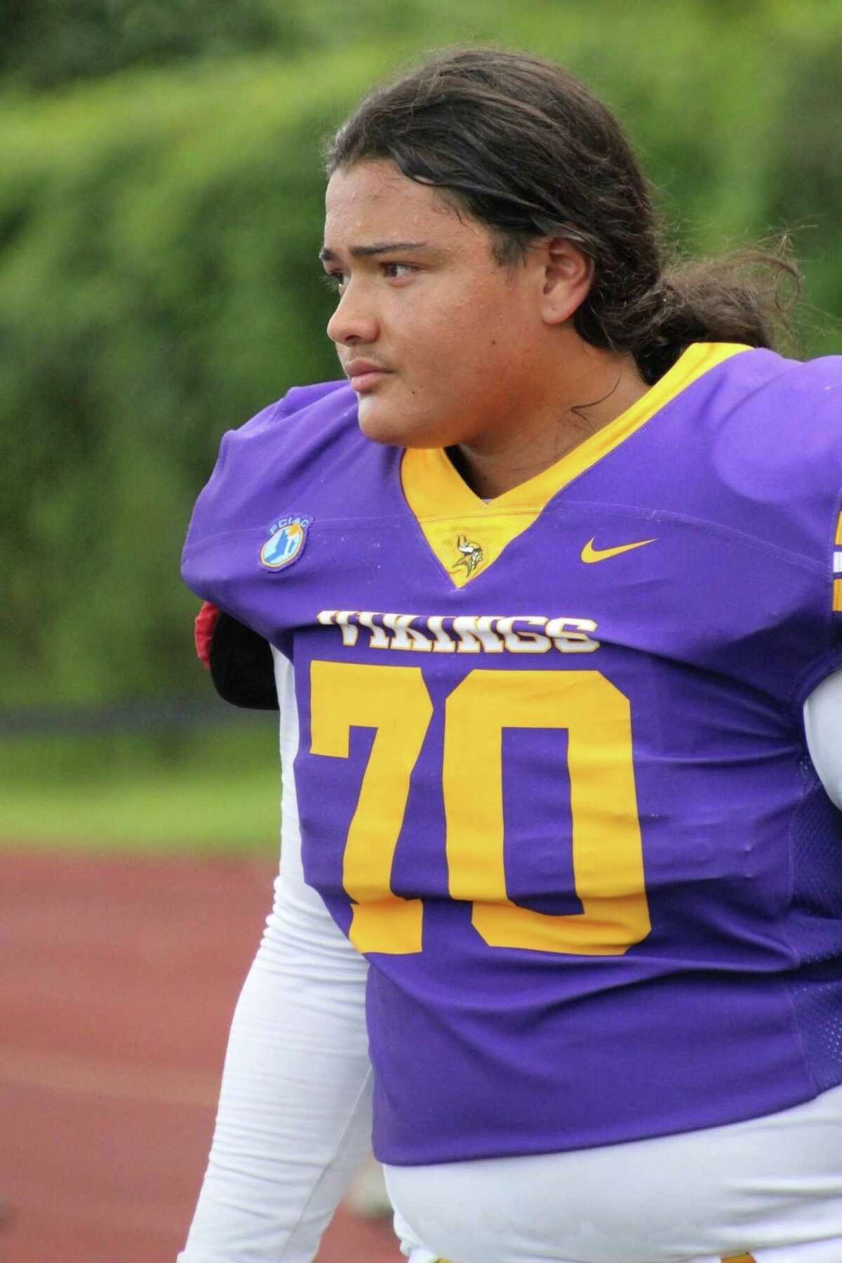 Jordan Martinez, a senior on the Westhill High School football team, was killed late Saturday night in a single-car accident in Greenwich.