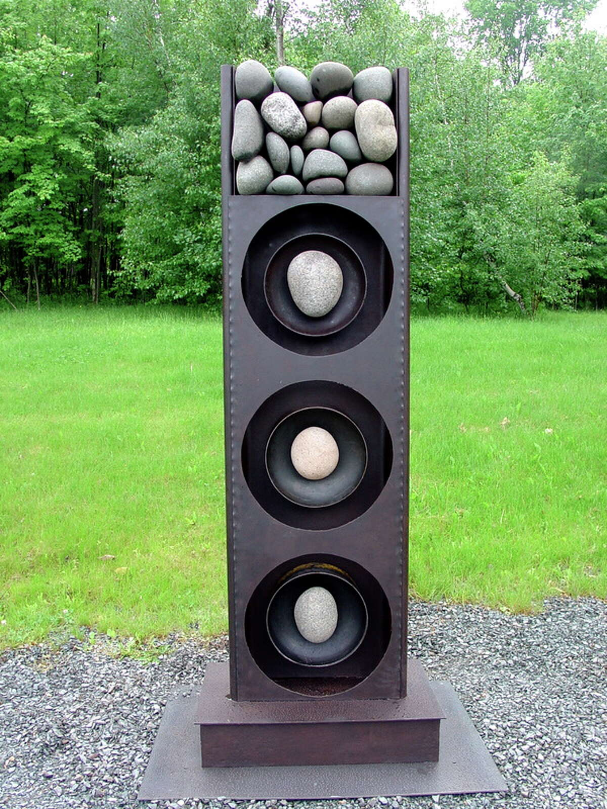 Stone Totem by Mary Pat Wager