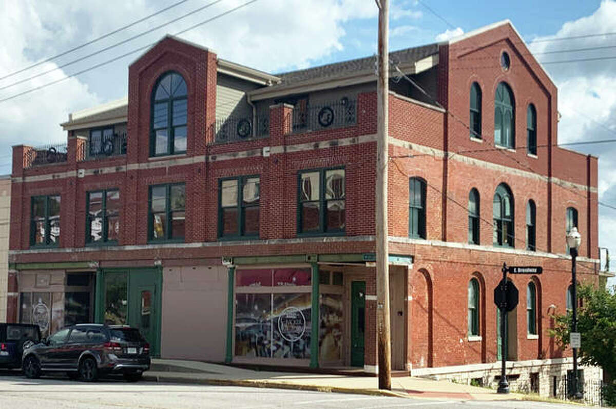 """The Cracker Factory at 205 E. Broadway - its large arched windows on the third floor serving as a focal point - is part of the Alton Historic House Tour that starts Friday by the Alton Area Landmarks Association. All tour sites are """"drive-by"""" this year, as they were last year, because of COVID-19 precautions."""