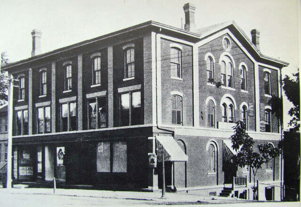 A historic photo of The Cracker Factory at 205 E. Broadway.