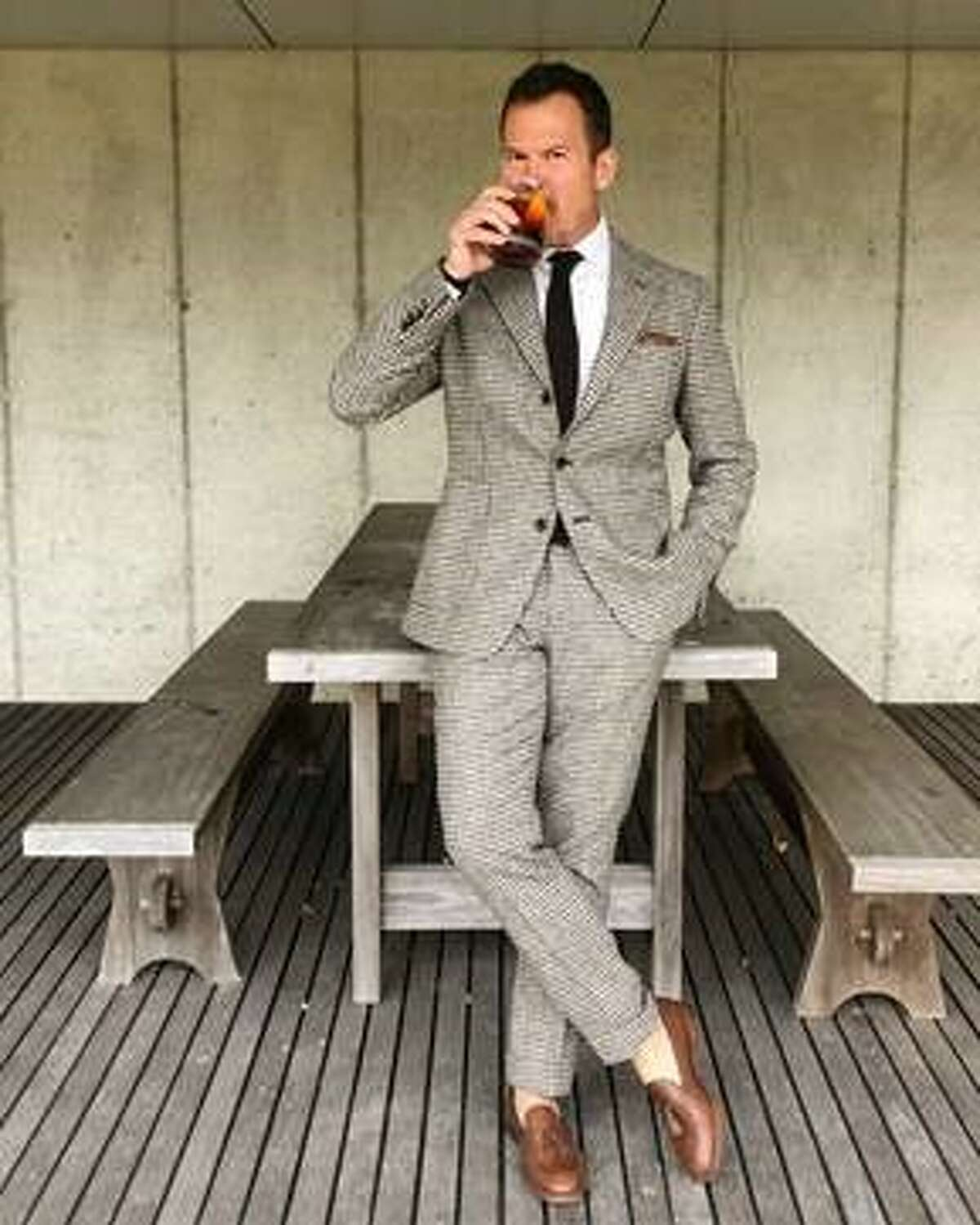 """Matt Hranek, author of the new cocktail book """"The Negroni""""will discuss and sample variations of the classic drink during an appearance at the Saratoga Performing Arts Center on Oct. 16."""