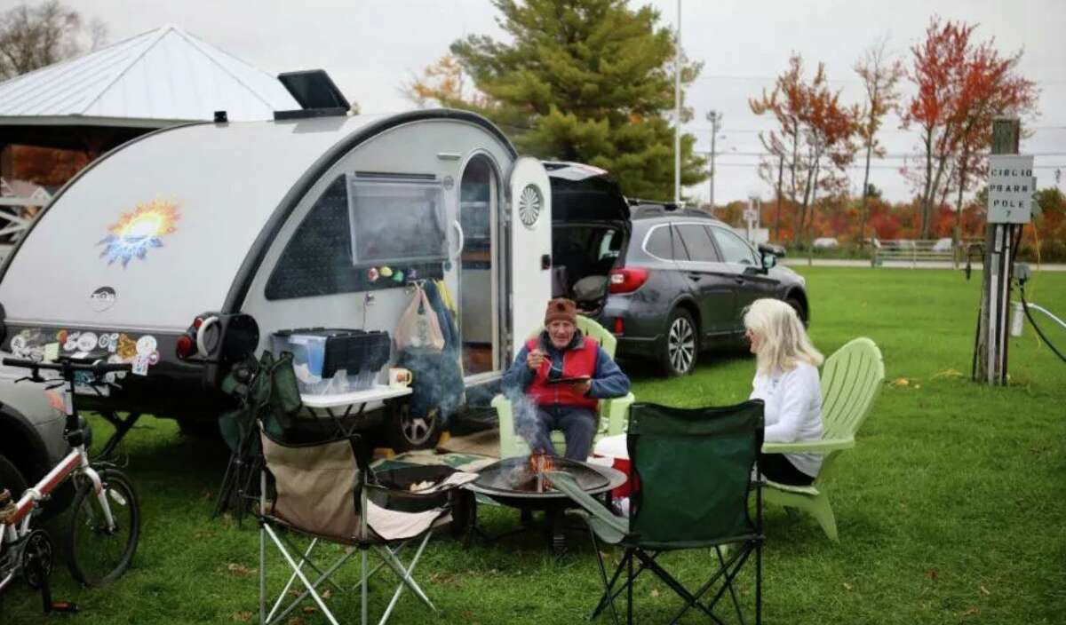 The festival offers camping by RV or tent for the entirey of the weekend.
