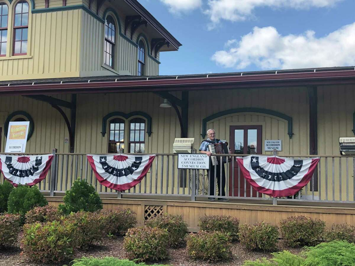 The new location of Paul Ramunni's New England Accordion Connection & Museum Company is located in North Canaan in the Canaan Union Depot.
