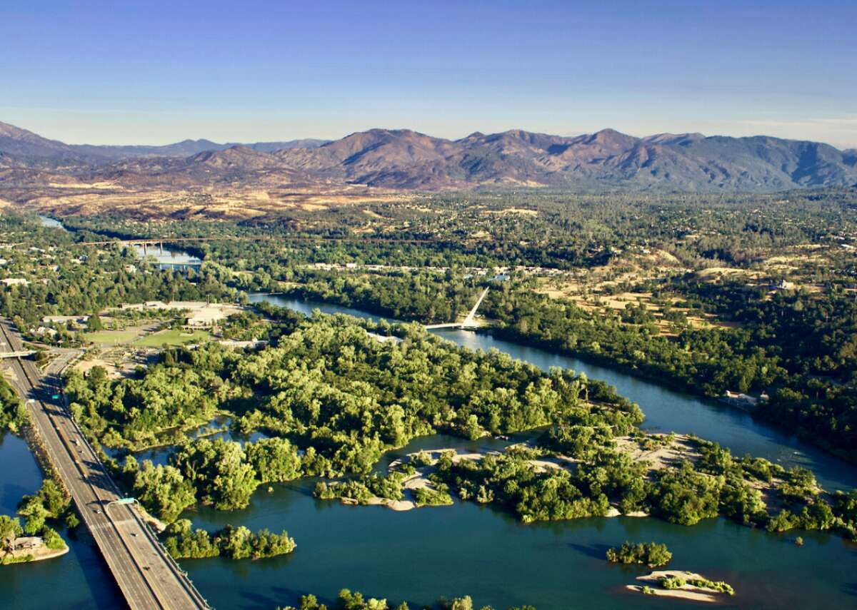 #25. Redding-Red Bluff, California - Total population: 245,164 --- Percent people of color: 24.0% (58,776) --- Percent adults with asthma: 6.2% (15,141) --- Percent children with asthma: 1.6% (3,984) --- Percent people who have ever smoked: 26.8% (65,803) --- Percent people living in poverty: 13.9% (33,992) Located in the Sacramento Valley, Redding is surrounded by mountains that can slow down and block airflow in the valley. Smoke from the state's frequent wildfires can accumulate and become trapped if the wind is not sufficiently powerful.