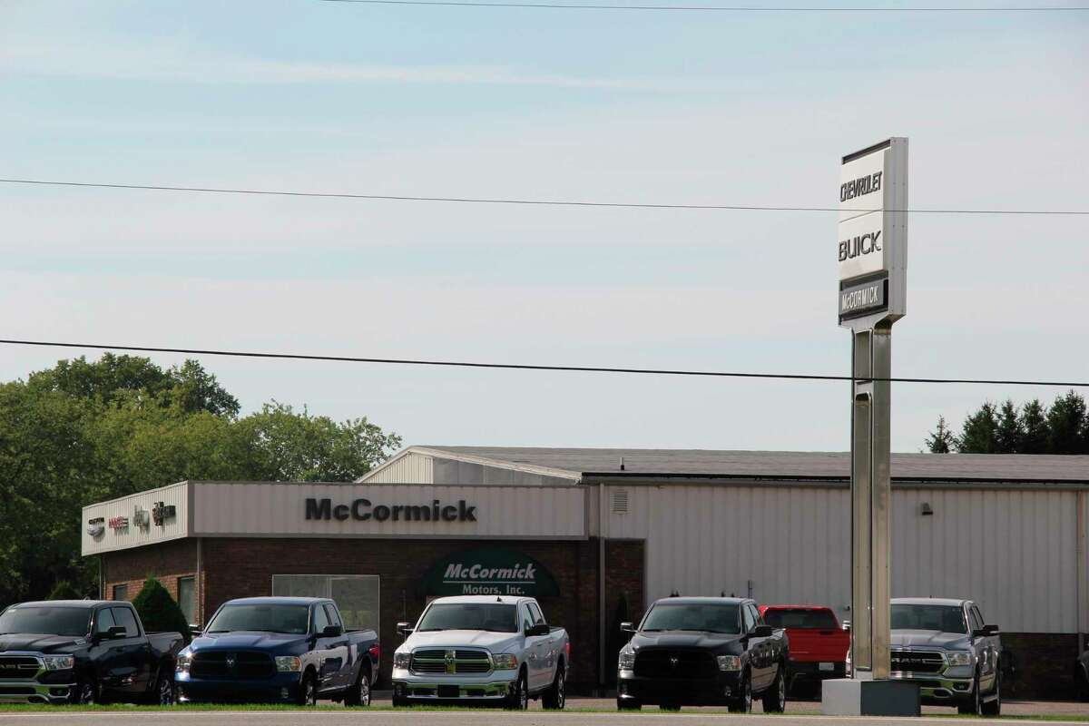 McCormick Motors has new ownership after previous owner Dave McCormick decided to retire. It is now owned by Joe Ricci, who owns a Marlette Chrysler dealership and four used car dealerships in suburban Detroit. (Robert Creenan/Huron Daily Tribune)