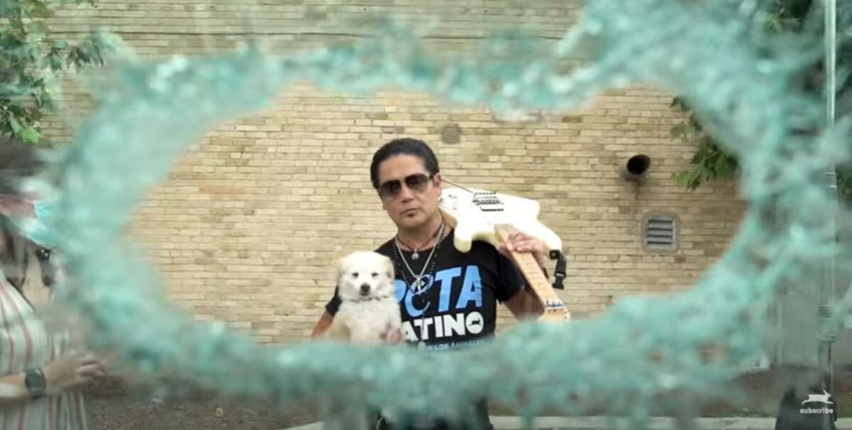 Chris Perez is amplifying a message from People for the Ethical Treatment of Animals (PETA) on the dangers of locking animals in vehicles.