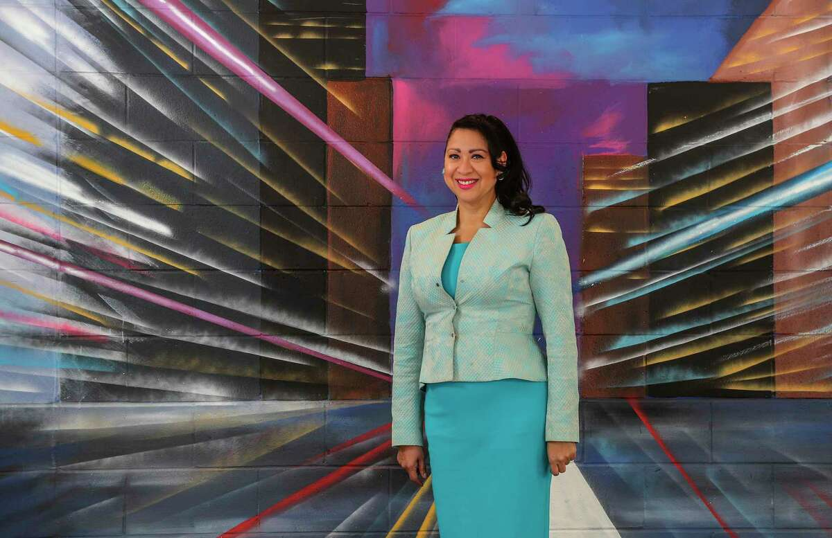Laura Murillo, president and CEO of the Houston Hispanic Chamber of Commerce, photographed at the Houston Hispanic Chamber of Commerce, Wednesday, September 22, 2021, in Houston.