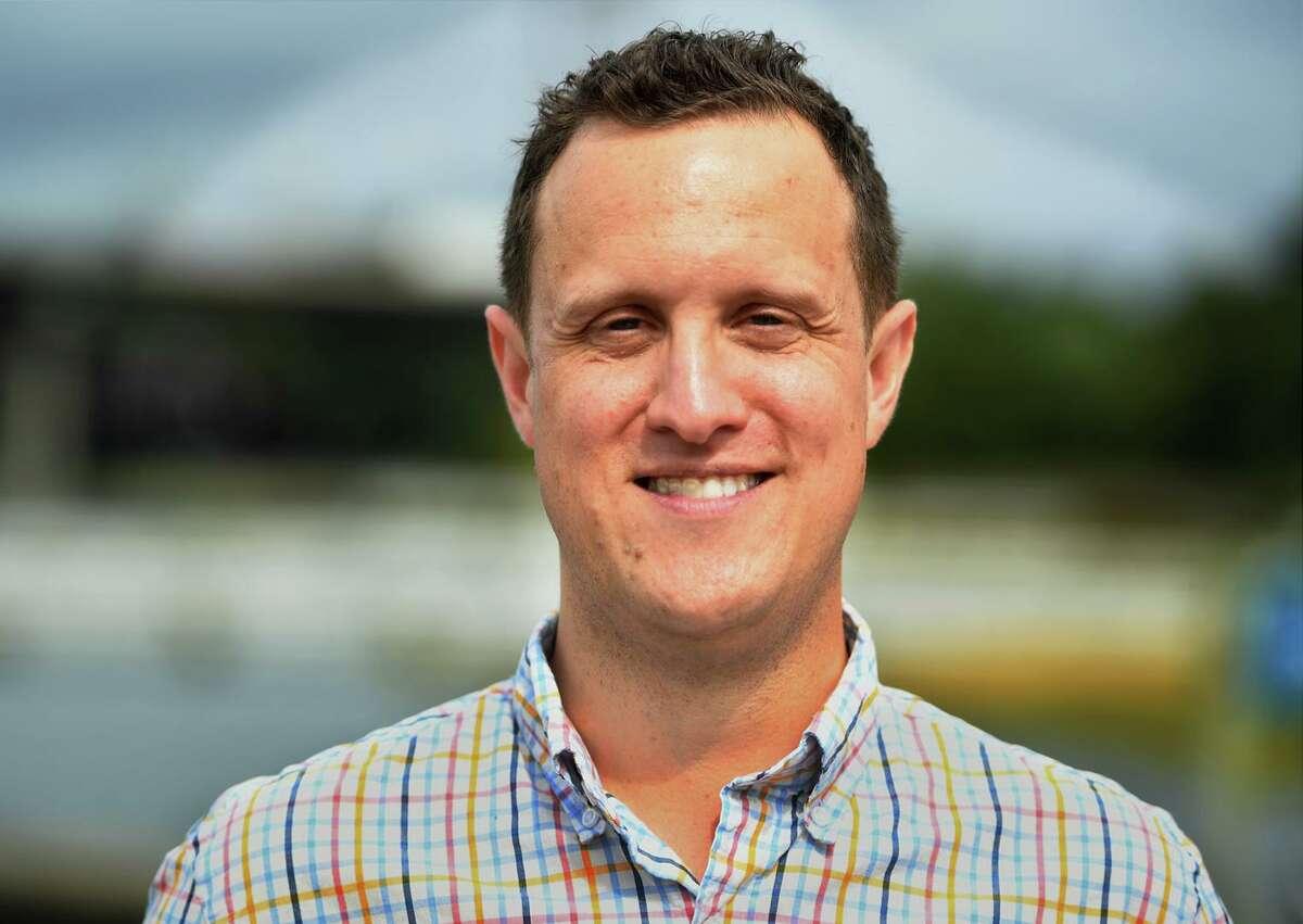 Milford Alderman Brett Broesder is executive director of Democrats Serve.