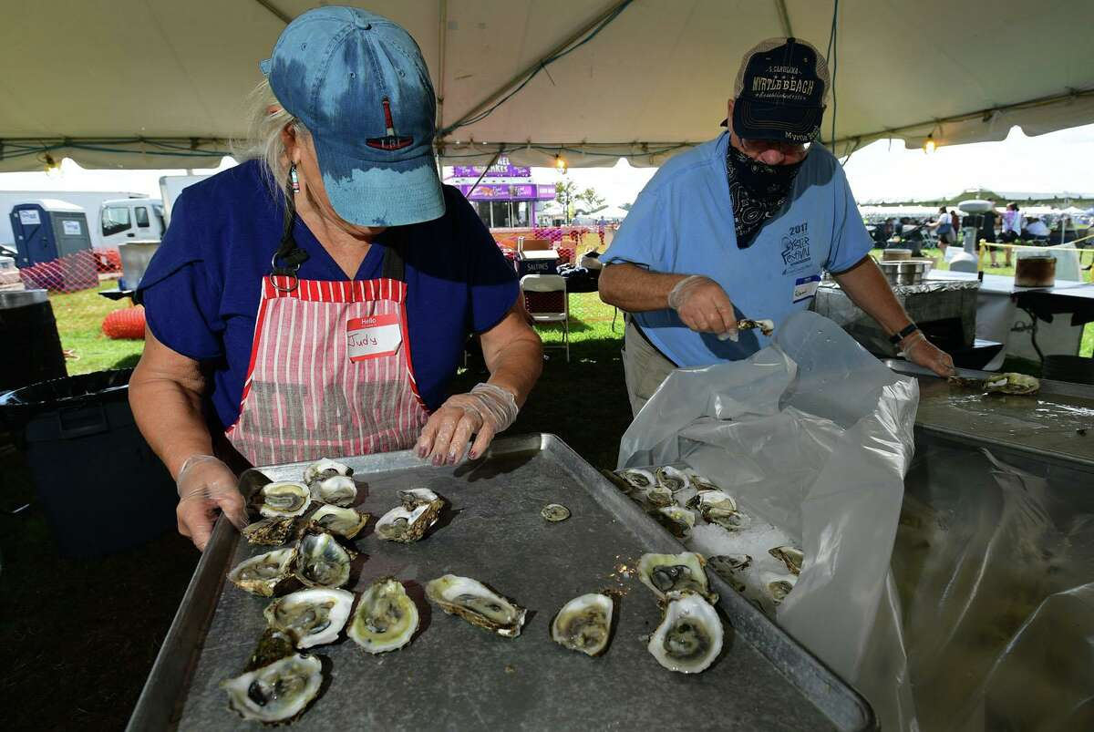 The Norwalk Oyster Festival drew throngs in mid-September as summer drew to a close, with many leisure employers having seen a boost in business as people sought diversions during the COVID-19 pandemic.