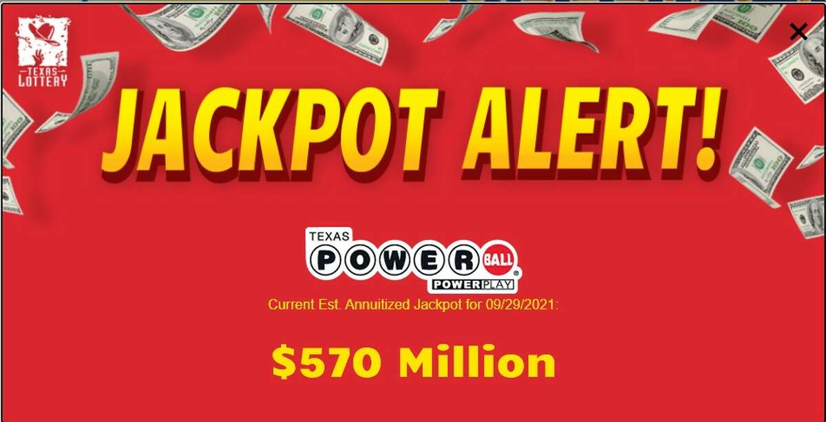 Wednesday's Powerball will be worth an estimated $570 million. (Powerball.com)