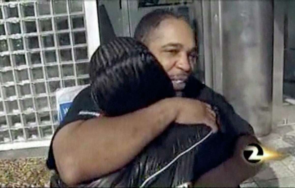 Maurice Caldwell on the day he was released from San Francisco County Jail in 2011. San Francisco supervisors approved an $8 million settlement resolving a lawsuit Caldwell filed against the city, alleging police framed him for a murder he did not commit.