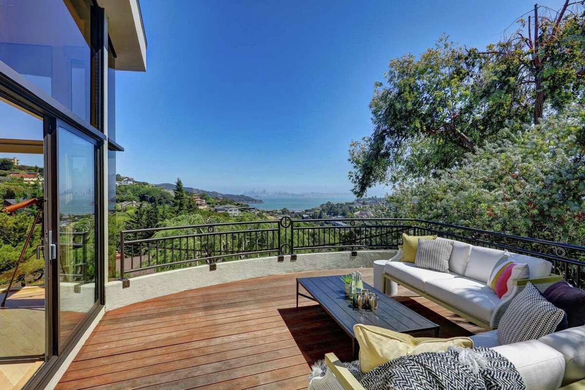 Carlos Santana has sold his Tiburon property.